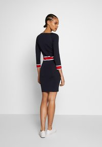 Morgan - Shift dress - marine/papaye - 2