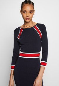 Morgan - Shift dress - marine/papaye - 3