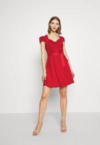 Morgan - RSTAR - Robe d'été - rouge - 2