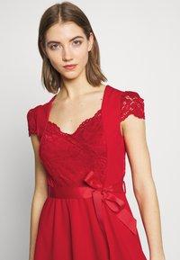 Morgan - RSTAR - Robe d'été - rouge - 5