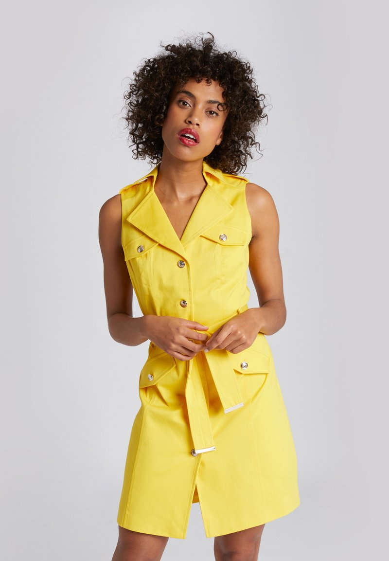 Morgan - Day dress - yellow