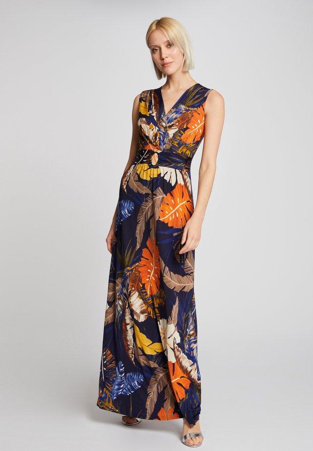 Vestido largo - multi-coloured