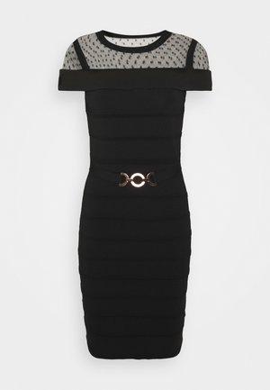 RMOLIA - Robe pull - noir