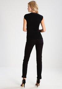 Morgan - DTAG - T-shirt med print - noir - 2
