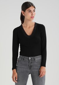 Morgan - Long sleeved top - noir - 0