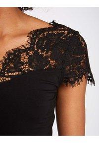 Morgan - T-shirt med print - black - 3