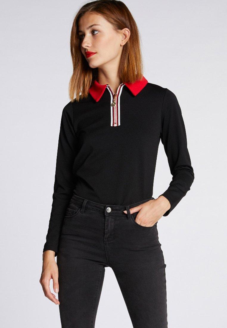 Morgan - Poloshirt - black