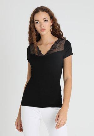 DCLARY - Print T-shirt - noir