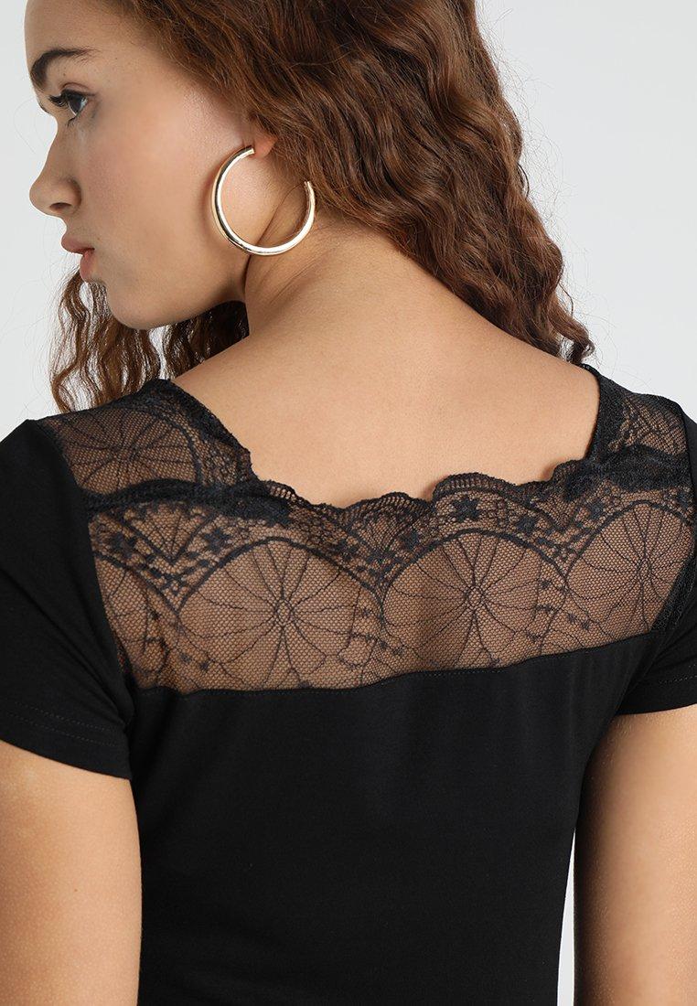 Morgan DCLARY - T-shirt z nadrukiem - noir