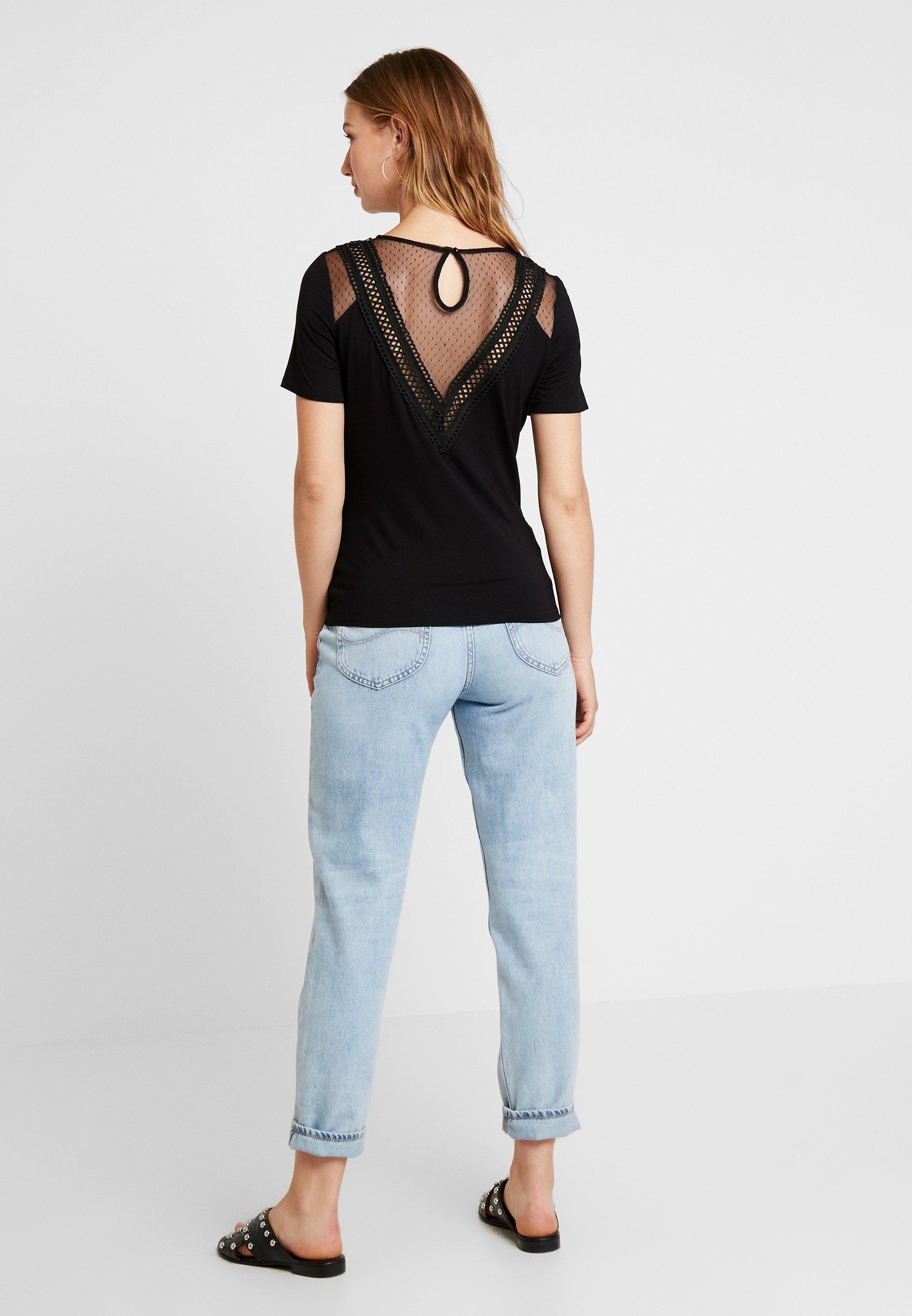 Imprimé shirt Morgan Morgan DreamT Noir BCdoex