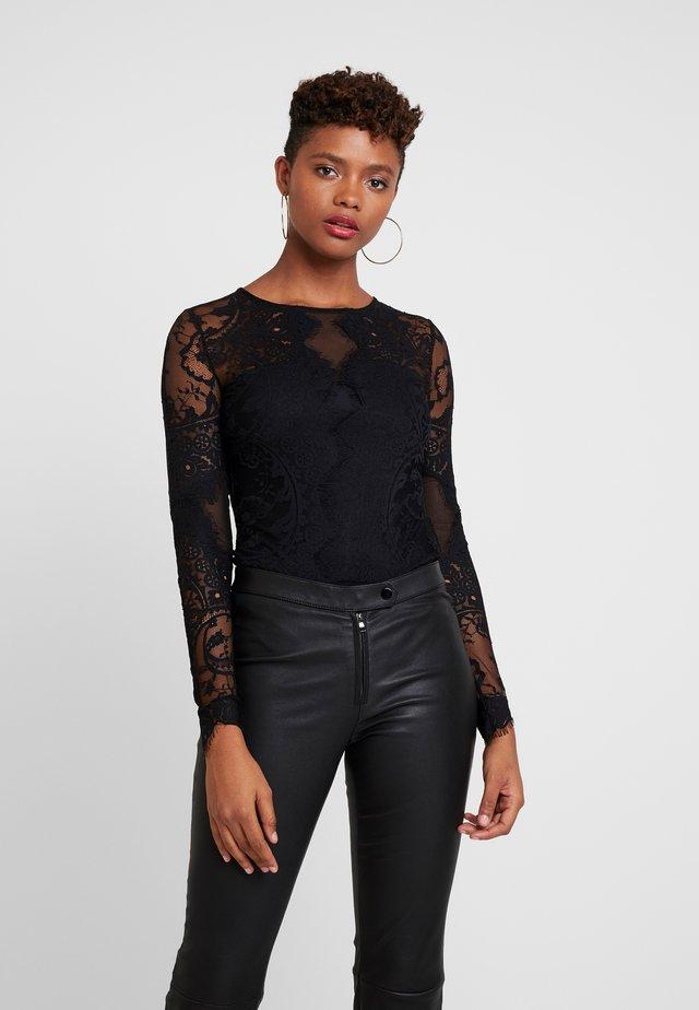 Long sleeved top - noir