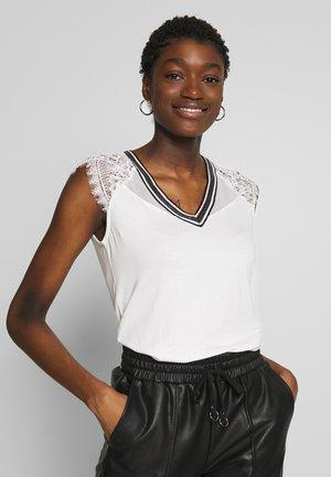 DERRIE - T-shirt imprimé - off-white