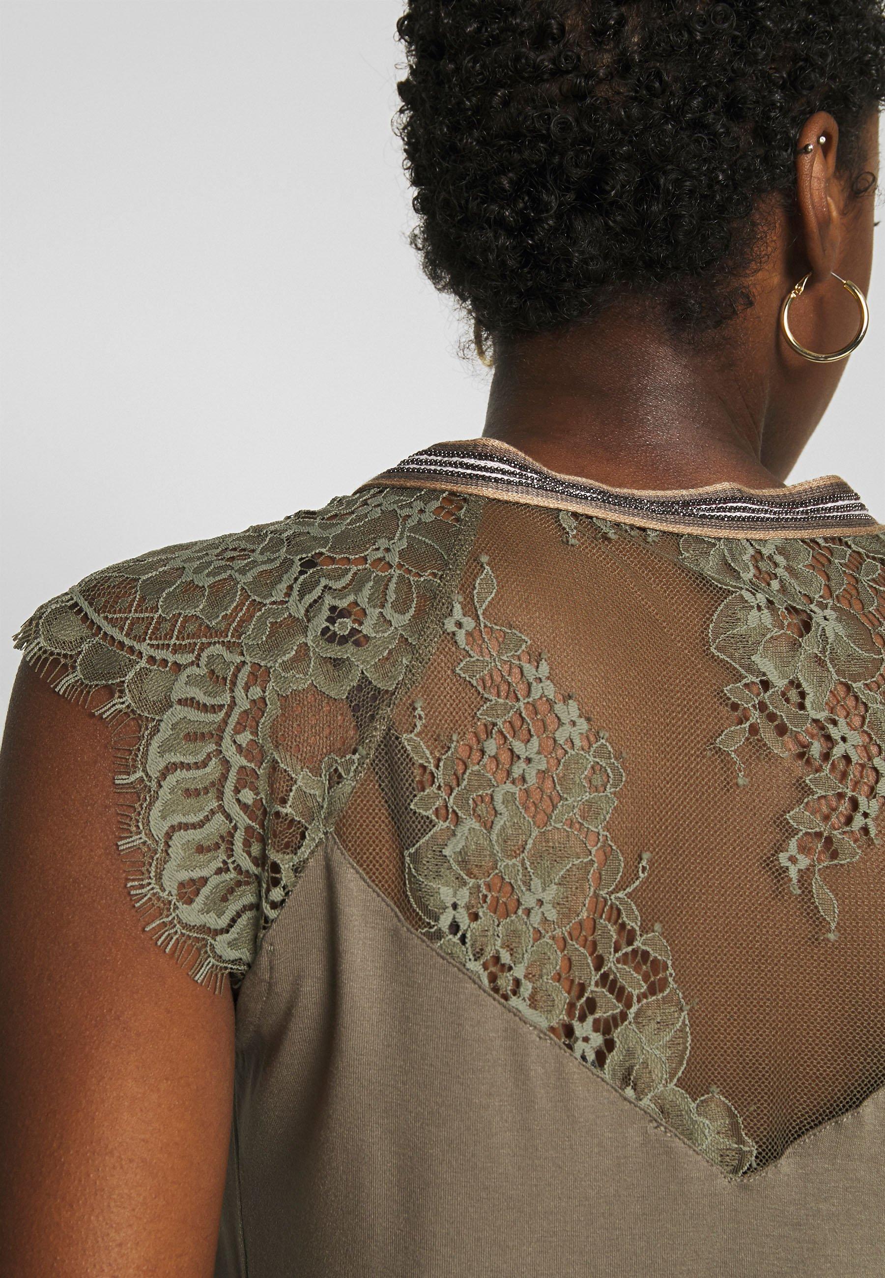 Morgan DERRIE - T-shirts med print - thym