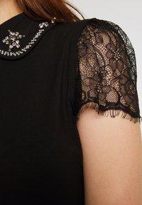 Morgan - T-shirt imprimé - noir - 4
