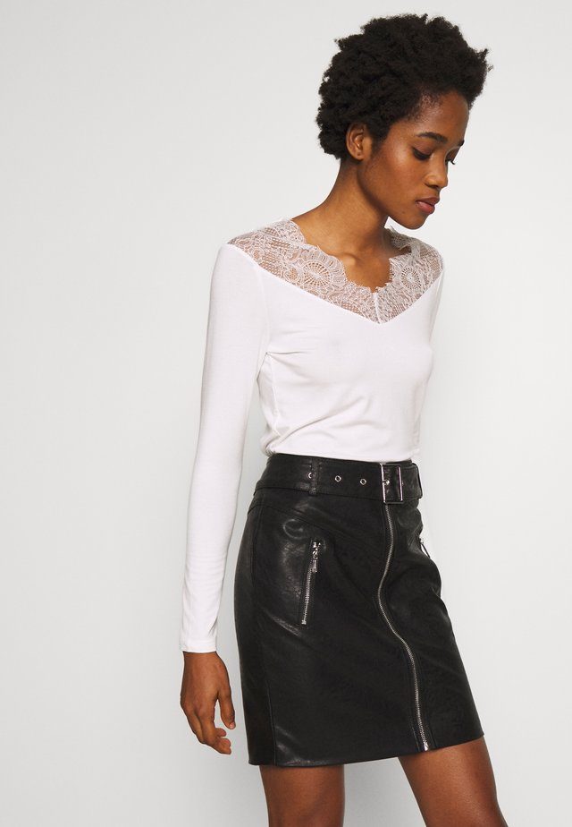 TRACE - Long sleeved top - off white