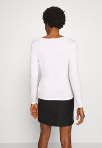 Morgan - TRACE - T-shirt à manches longues - off white - 2