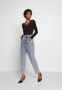 Morgan - TRACE - T-shirt à manches longues - noir - 1