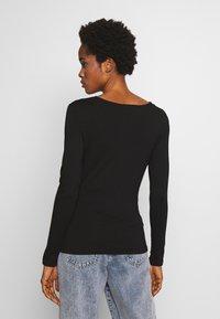 Morgan - TRACE - T-shirt à manches longues - noir - 2
