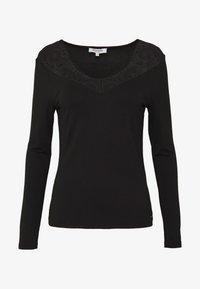 Morgan - TRACE - T-shirt à manches longues - noir - 4