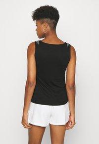 Morgan - T-shirt basique - noir - 2