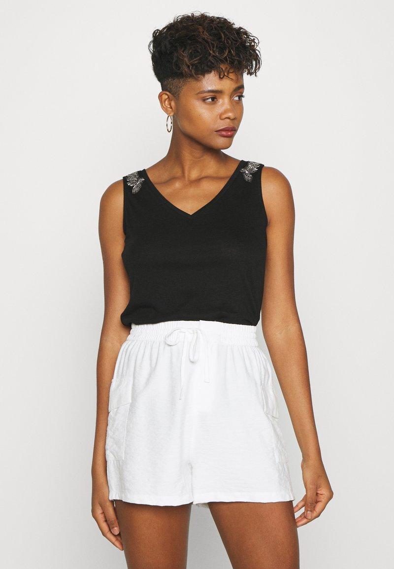 Morgan - T-shirt basique - noir