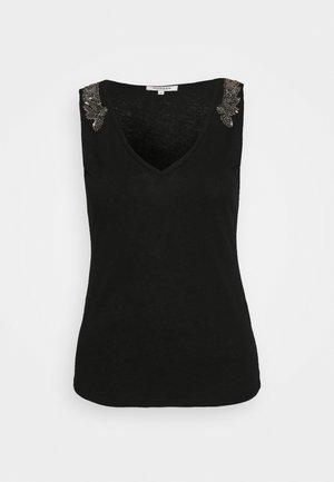 Jednoduché triko - noir