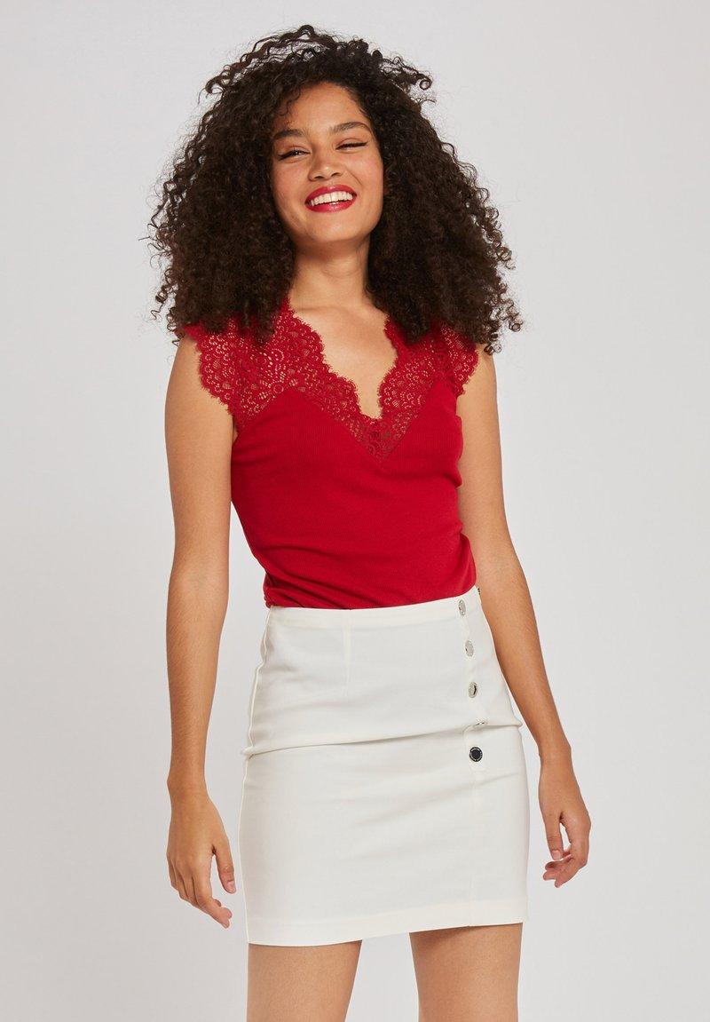 Morgan - DENA - T-shirt basique - red