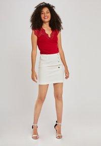 Morgan - DENA - T-shirt basique - red - 1