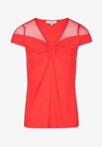 Morgan - DOBBY SPOT - Print T-shirt - red - 4
