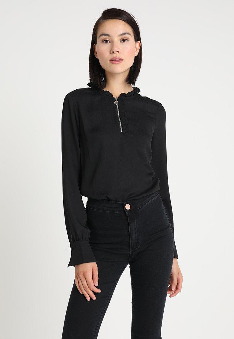 Morgan - OLIVER - Blouse - noir