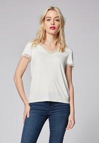 Morgan - DMINOL - T-Shirt print - off-white - 0