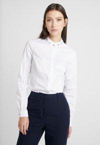 Morgan - Button-down blouse - blanc - 0