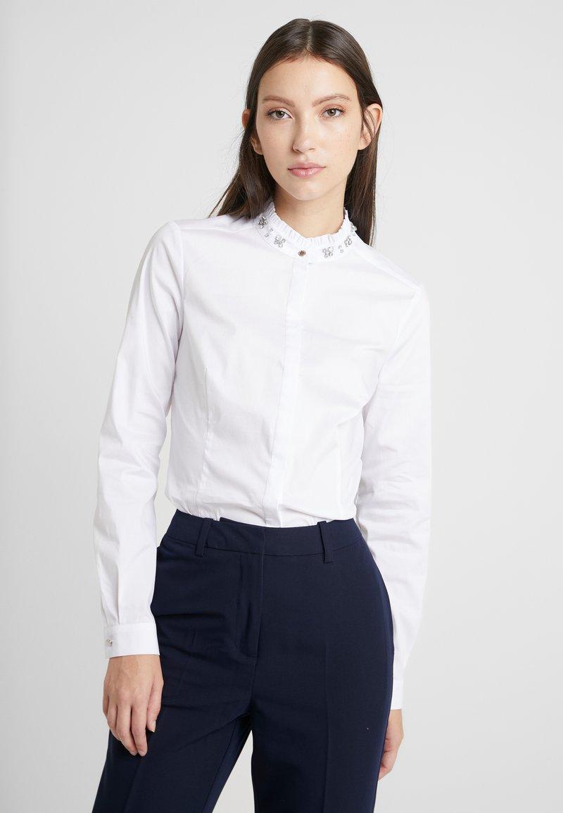 Morgan - Button-down blouse - blanc