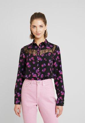 Camicia - noir/ultraviolet