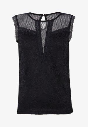 DIDI - Print T-shirt - noir
