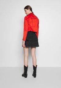 Morgan - GRAMMY - Faux leather jacket - papaye - 2