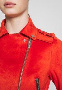 Morgan - GRAMMY - Faux leather jacket - papaye - 4