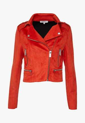 GRAMMY - Faux leather jacket - papaye