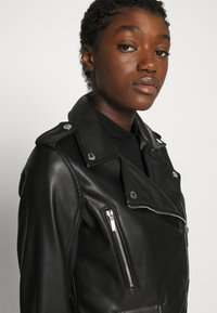 Morgan - GAMMA - Veste en similicuir - noir - 3