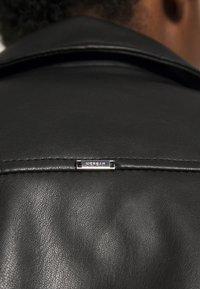 Morgan - GAMMA - Veste en similicuir - noir - 4