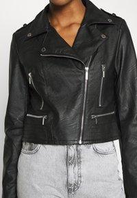 Morgan - GRAMMO - Imitatieleren jas - noir - 5