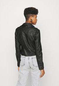 Morgan - GRAMMO - Imitatieleren jas - noir - 2