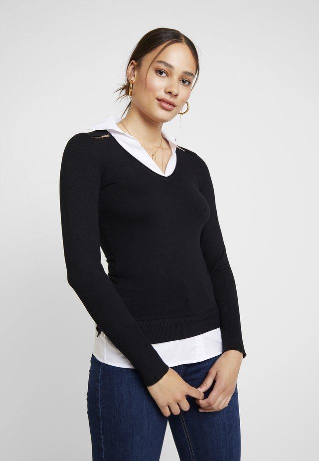 MYLORD - Stickad tröja - noir