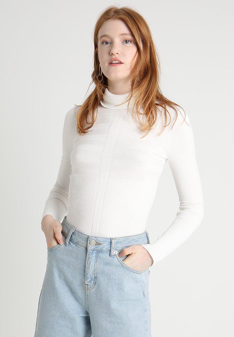 Morgan - MENTOS - Strickpullover - white