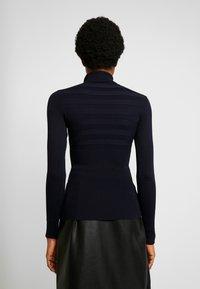 Morgan - MENTOS - Stickad tröja - marine - 2
