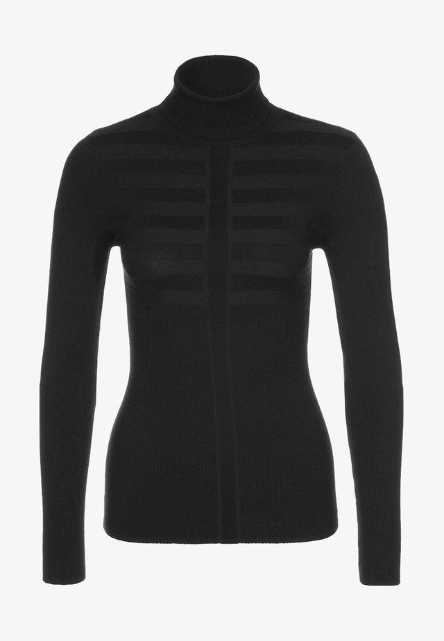 MENTOS - Stickad tröja - noir