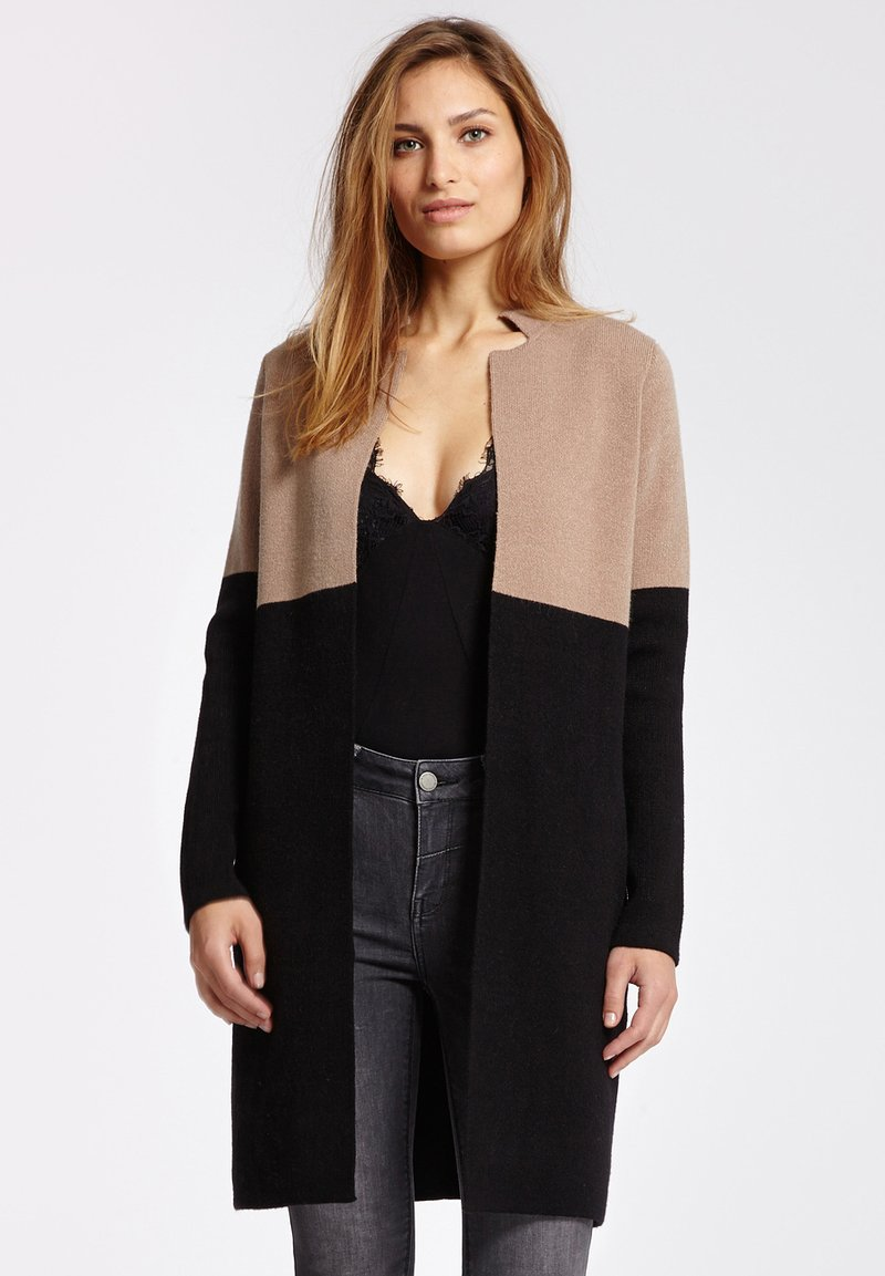 Morgan - BLOCK - Cardigan - camel