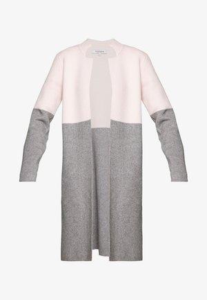 BLOCK - Cardigan - nude/gris