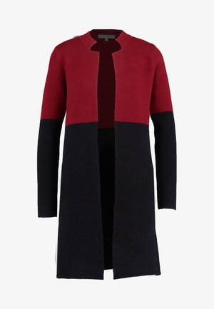 MBLOCK - Short coat - burgundy/black