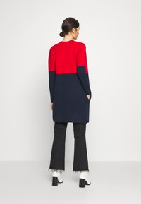Morgan - BLOCK - Cardigan - rouge/marine - 2